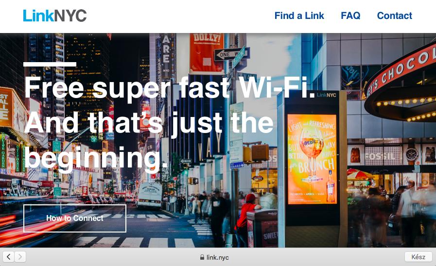 LinkNYC wifi map - Future Management Online Marketing Ügynökség - Digitális nomád