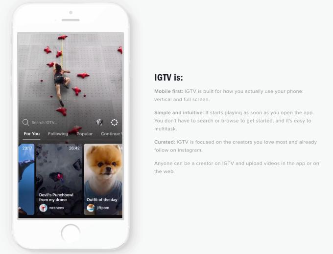 IGTV, az Instagram eddigi legnagyobb dobása