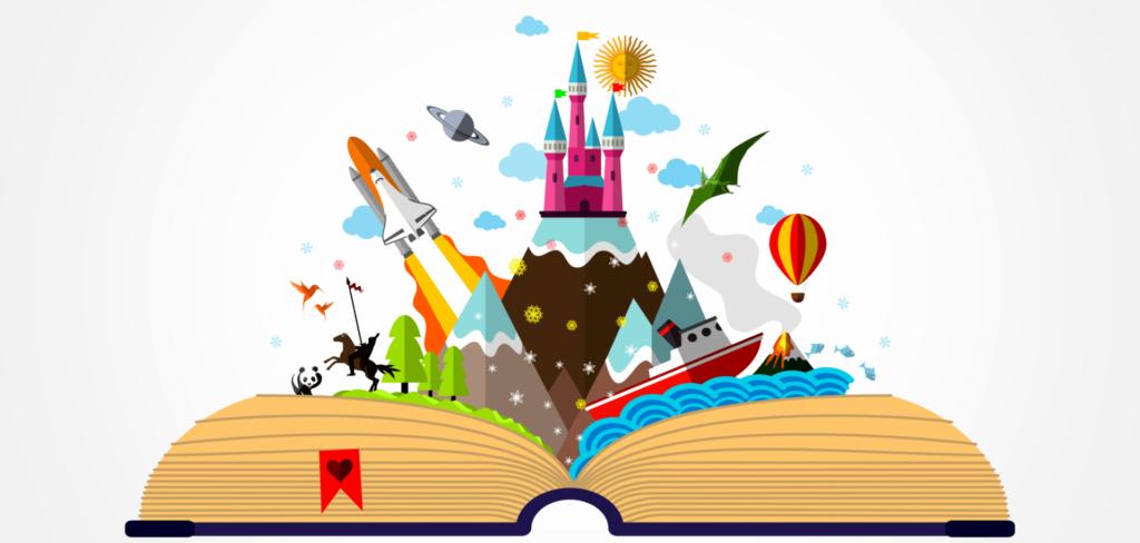 A Storytelling a legjobb módja, az eszmék kreatív átadásának.