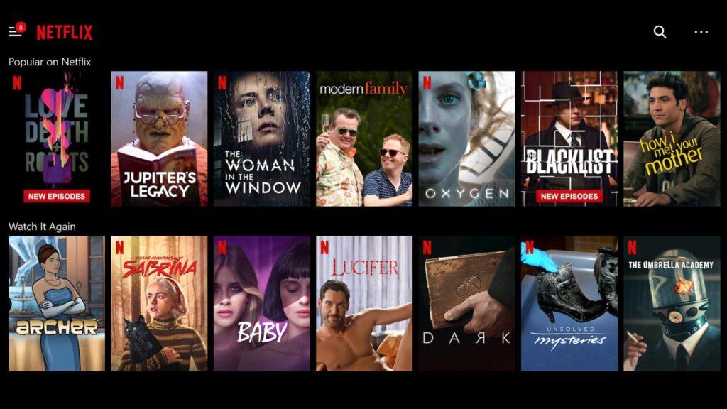 Netflix marketing