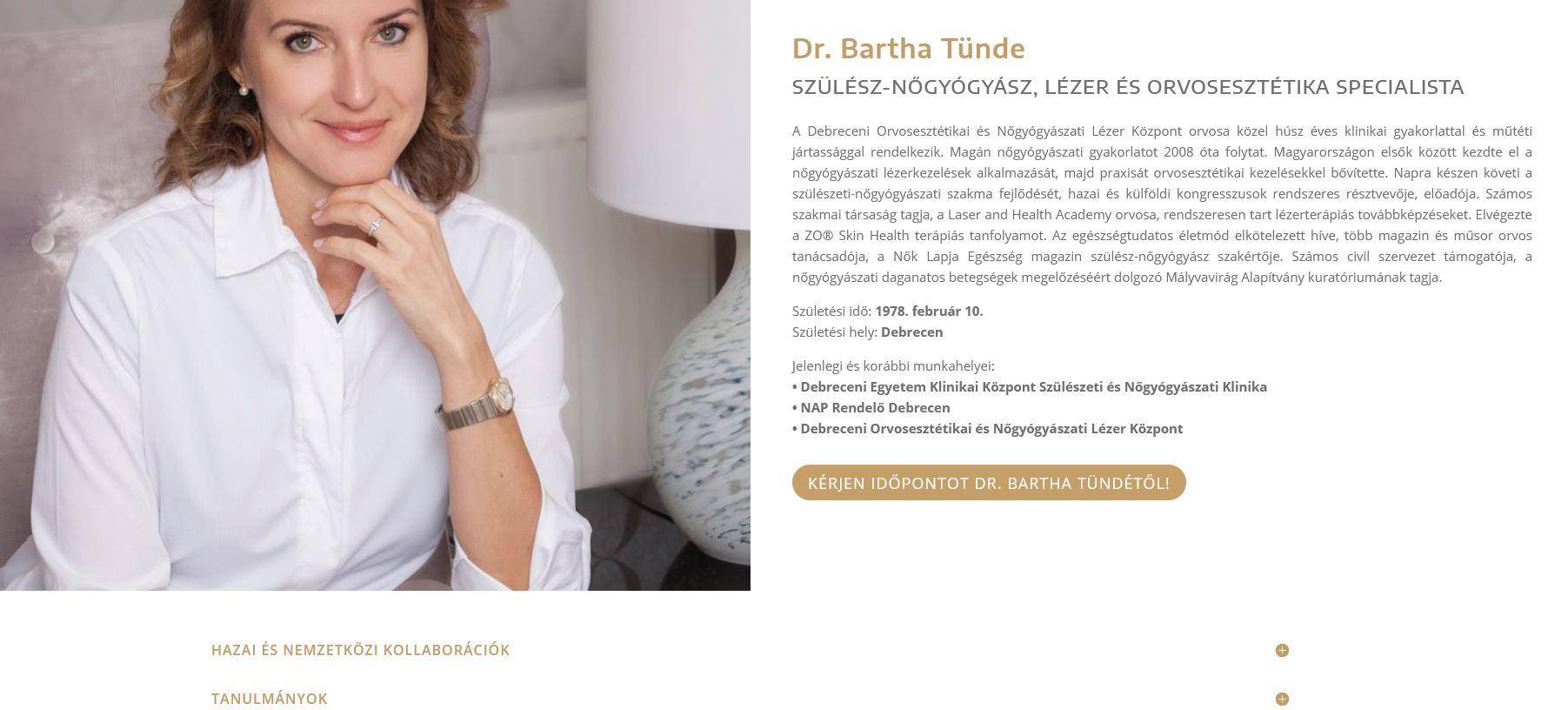 Dr. Bartha Tünde